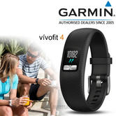 Garmin VivoFit 4 Activity Tracker | Smart Fitness Wristband | Gym-Training | Black | S/M