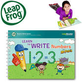 Leap Frog LeapReader Learn to Write Numbers with Mr Pencil | Educational Accessory | +4 To 8 Year
