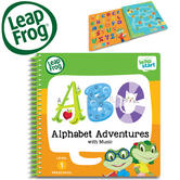 Leap Frog LeapStart Alphabet Adventures Activity Book | 40+ Replayable Activities | +2 To 4  Year