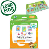 Leap Frog LeapStart Daily Routines Activity Book | 40+ Replayable Activities | +2 To 4  Year