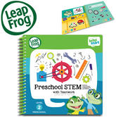 Leap Frog LeapStart Preschool STEM Activity Book | 40+ Replayable Activities | +2 To 4  Year