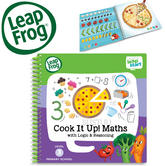 Leap Frog LeapStart Cook it Up! Maths Activity Book | 40+ ReplayableActivities | +4 years