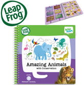Leap Frog LeapStart Amazing Animals Activity Book | 40+ Replayable Activities | +4 years