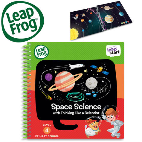 Leap Frog LeapStart Space Science Activity Book | 40+ Replayable Activities | +5 Years Thumbnail 1
