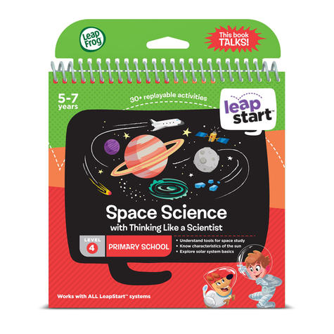 Leap Frog LeapStart Space Science Activity Book | 40+ Replayable Activities | +5 Years Thumbnail 3
