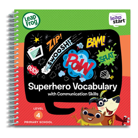 Leap Frog LeapStart Superhero Vocabulary Activity Book | 30+ Replayable Activities | +5 Years Thumbnail 2