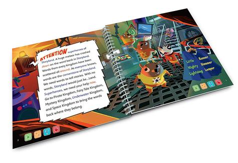 Leap Frog LeapStart Superhero Vocabulary Activity Book   30+ Replayable Activities   +5 Years Thumbnail 4