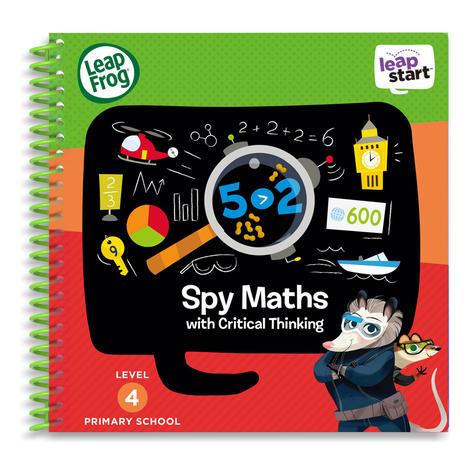 Leap Frog LeapStart Spy Maths Activity Book | 30+ Replayable Activities | +5 Years Thumbnail 2