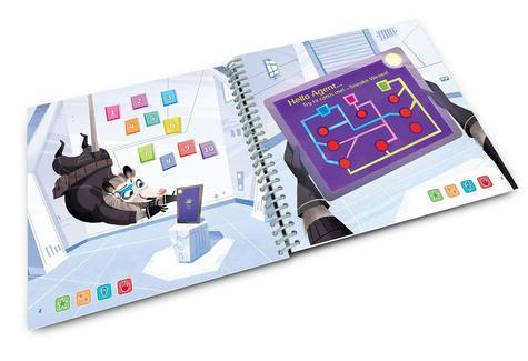 Leap Frog LeapStart Spy Maths Activity Book | 30+ Replayable Activities | +5 Years Thumbnail 4