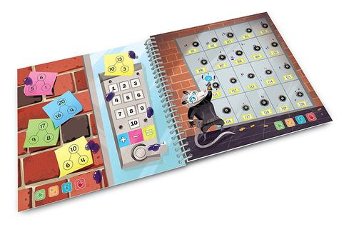 Leap Frog LeapStart Spy Maths Activity Book | 30+ Replayable Activities | +5 Years Thumbnail 5