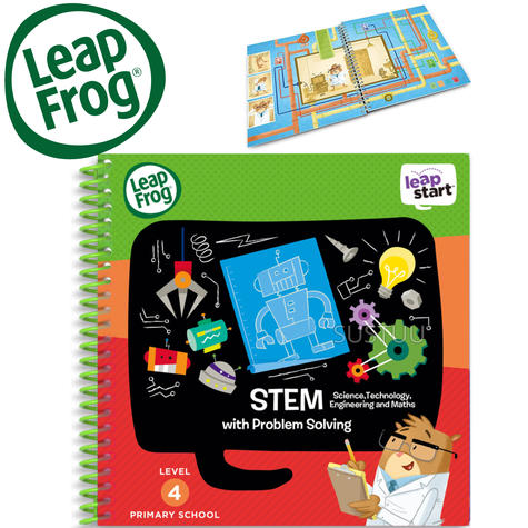 Leap Frog LeapStart STEM Activity Book | 30+ Replayable Activities | 5 to 7 Years Thumbnail 1