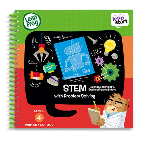 Leap Frog LeapStart STEM Activity Book | 30+ Replayable Activities | 5 to 7 Years Thumbnail 2
