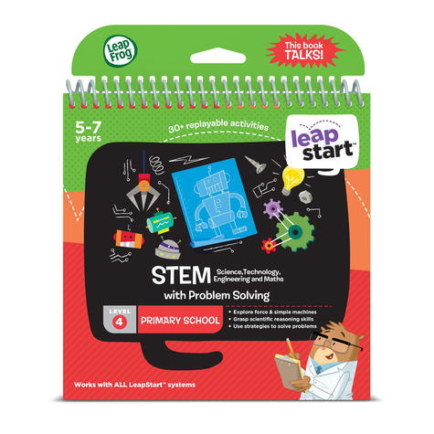 Leap Frog LeapStart STEM Activity Book | 30+ Replayable Activities | 5 to 7 Years Thumbnail 3