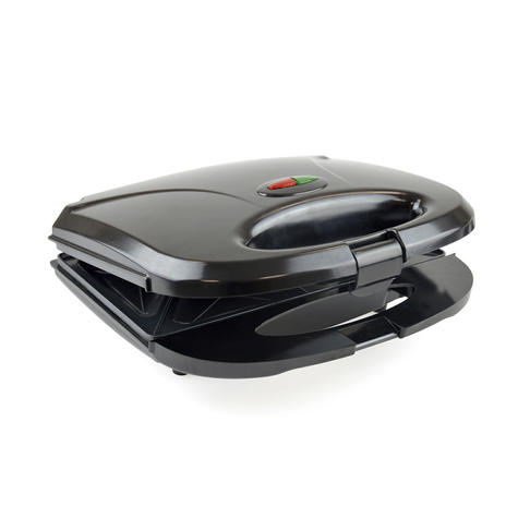 Lloytron 2 Slice Sandwich Toaster | Omelette-Pastry-Toastie Maker | 750W | Black | E2603 Thumbnail 4