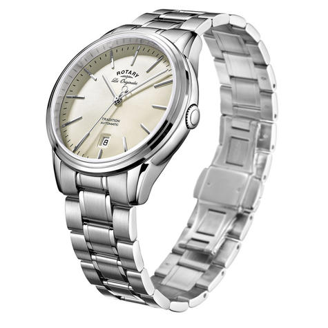Rotary Tradition Automatic Gents Watch | Off White Dial | Bracelet Band | GB90161/32 Thumbnail 2
