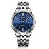 Rotary Tradition Men's Luxury Watch   Blue Analogue Dial   Bracelet Band   GB90194/05