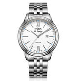 Rotary Tradition Men's Casual Watch   Roman Numerals Dial   Bracelet Band   GB90194/01