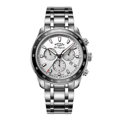 Rotary Legacy Mens Luxury Watch | Chronograph Silver Dial | Bracelet Band | GB90169/02 Thumbnail 1