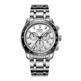 Rotary Legacy Mens Luxury Watch   Chronograph Silver Dial   Bracelet Band   GB90169/02