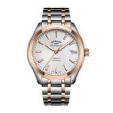 Rotary Legacy Automatic Men's Watch | Sunburst Dial | Dual Tone Bracelet | GB90167/06