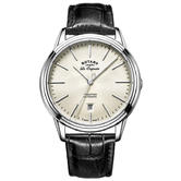 Rotary Tradition Automatic Men's Watch | Off White Dial | Leather Strap | GS90161/32