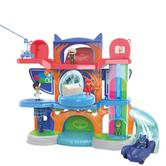 PJ Masks Deluxe Headquarters Playset | Kid's Funny Action Car's Toy | Activities Toy
