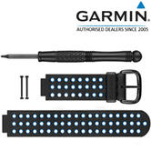 Garmin Replacement Wrist Strap Band | For Approach S5 Golf GPS Watch | Blue/Black