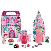 Plasticine Fairyland Playset | Kid's Creativity Toy Play Set | Perfect for Pretend
