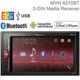 Pioneer 6.2? Car Stereo | Radio | Media Player | Bluetooth | iPod-iPhone-Android | USB/AUX