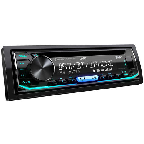 JVC Car Stereo | CD Receiver | DAB+ Tuner | Bluetooth | USB/AUX-in | iPod-iPhone-Android Thumbnail 3