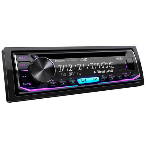 JVC Car Stereo | CD Receiver | DAB+ Tuner | Bluetooth | USB/AUX-in | iPod-iPhone-Android Thumbnail 4
