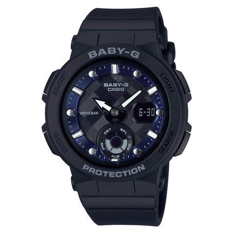 Casio Baby-G Unisex Analogue & Digital Watch | Neon Illuminator | Resin Band | Black Thumbnail 2