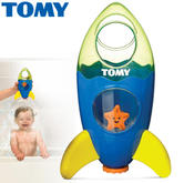Tomy Fountain Rocket | Baby's Bathtime/Funtime Toy | Novel Way To Dome Shape Shower | +1 Year