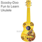 Scooby-Doo Fun Ukulele?Kids Music Instrument?Nylon Strings?Play & Learn?4+ Years