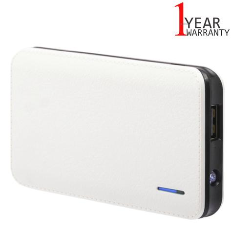 Urbanz 4000mAh Power Charger?Mobile-Smart Phones-Tablets-E-Readers-GPS?White?NEW Thumbnail 1