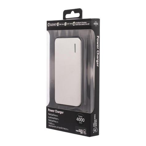 Urbanz 4000mAh Power Charger?Mobile-Smart Phones-Tablets-E-Readers-GPS?White?NEW Thumbnail 5