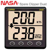 Nasa Marine Replacement Clipper Duet Display Only | Speed & Depth | For Boat/ Marine