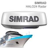 Simrad HALO24 Pulse Compression Marine Radar with 10m Cable | Use Simrad MFD | IPX6