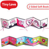 Tiny Love Double Sided First Book | Helps Extend Tummy Time | Easily Foldable | +3 Months | New