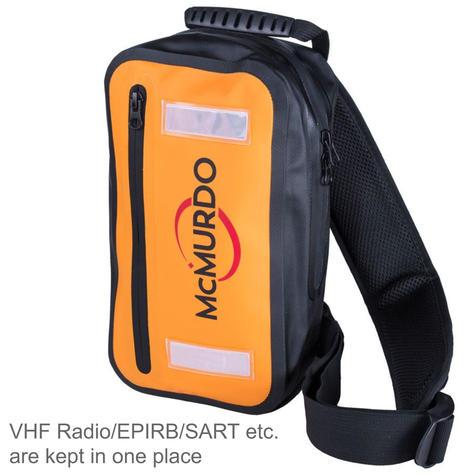 McMurdo 3L Single Shoulder Splashproof Back Pack | For Placed VHF Radio/EPIRB/SART Thumbnail 2