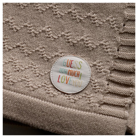 Guess How Much I Love You Knitted Blanket Gift Set | Baby's Soft Comforter | +0 Month Thumbnail 3