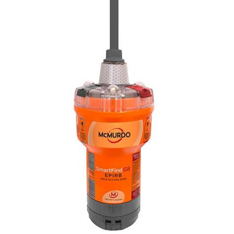 Mcmurdo SmartFind G8 AIS EPIRB | 72 MEOSAR | 406 & 121.5 MHz GPS/ GNSS | Marine Use Thumbnail 2