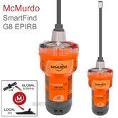 Mcmurdo SmartFind G8 AIS EPIRB | 72 MEOSAR | 406 & 121.5 MHz GPS/ GNSS | Marine Use