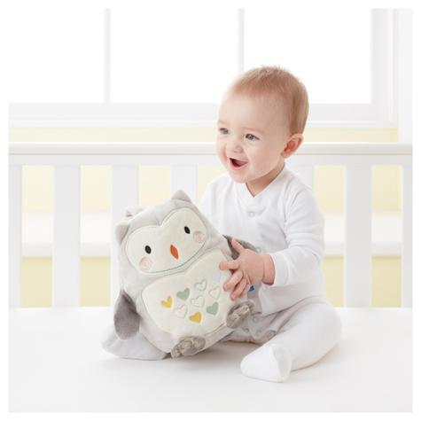 GroFriends Sleep Aid Ollie the Owl | Kid's Comfort Sleeping Toy | Light-Sound Sleep Thumbnail 5