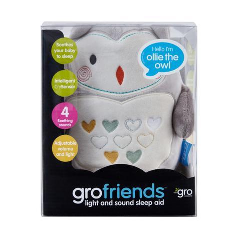 GroFriends Sleep Aid Ollie the Owl | Kid's Comfort Sleeping Toy | Light-Sound Sleep Thumbnail 6