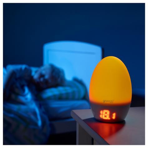GroEgg2 with USB Adaptor Room | Digital Travel Thermometer | Night Light USB Lamp Thumbnail 4