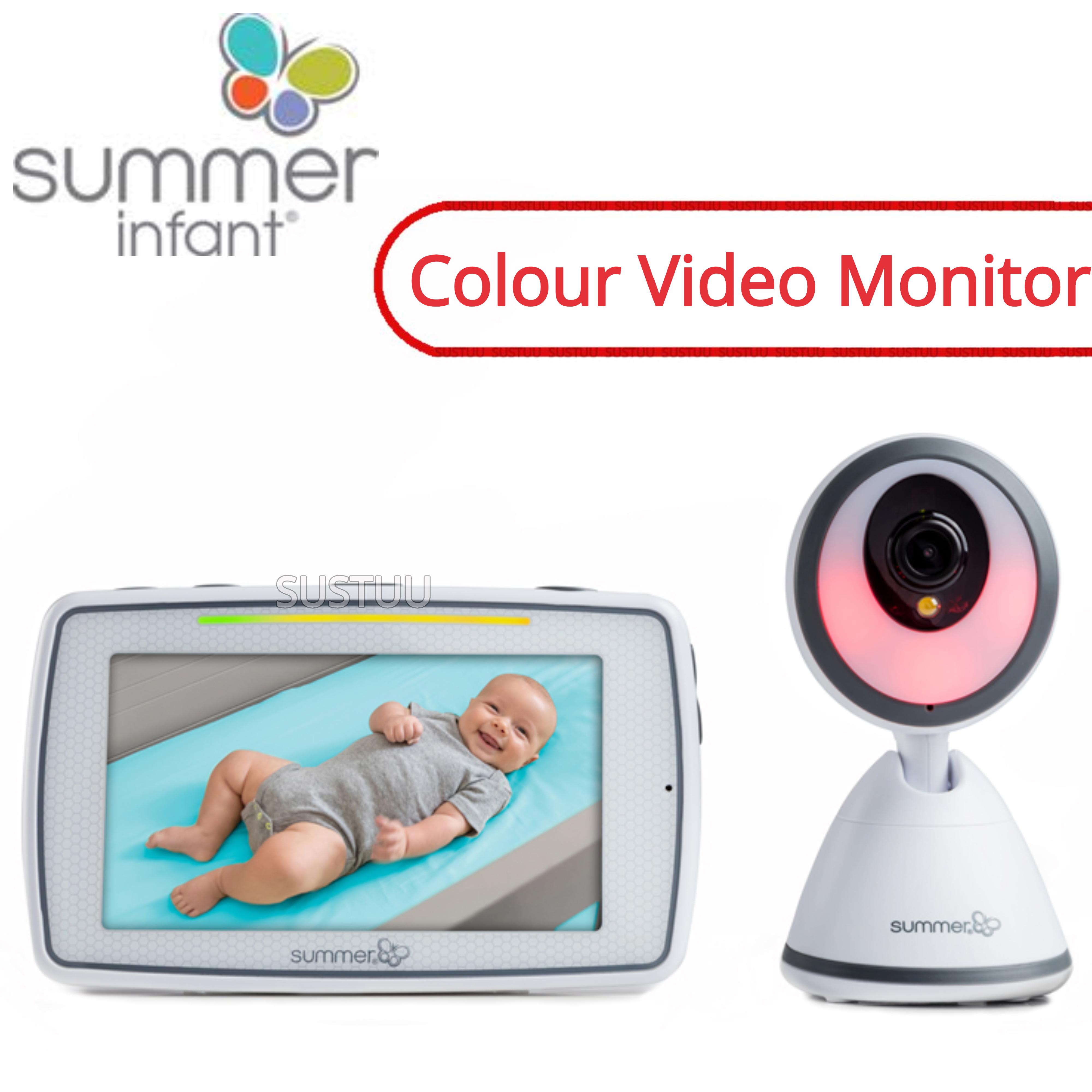 Summer Infant Baby Pixel Colour Video Monitor   360 DegreeTilt & 3x Zoom Camera   New