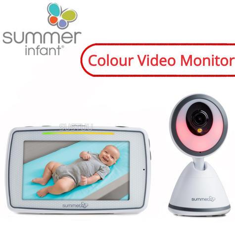 Summer Infant Baby Pixel Colour Video Monitor   360 DegreeTilt & 3x Zoom Camera   New Thumbnail 1