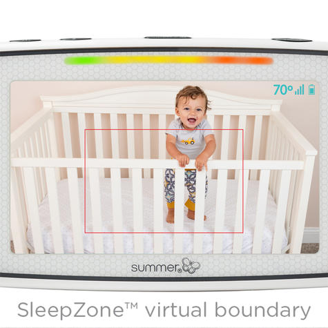 Summer Infant Baby Pixel Colour Video Monitor | 360 DegreeTilt & 3x Zoom Camera | New Thumbnail 8