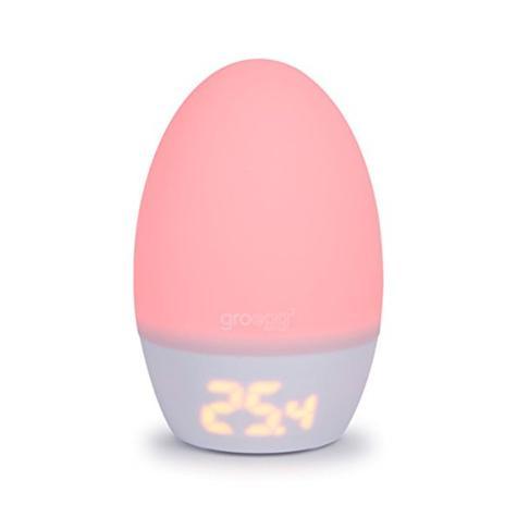 GroEgg2 ? Digital Travel & Kid's Room Thermometer ? Baby's Night Light Lamp ? UK Plug Thumbnail 2
